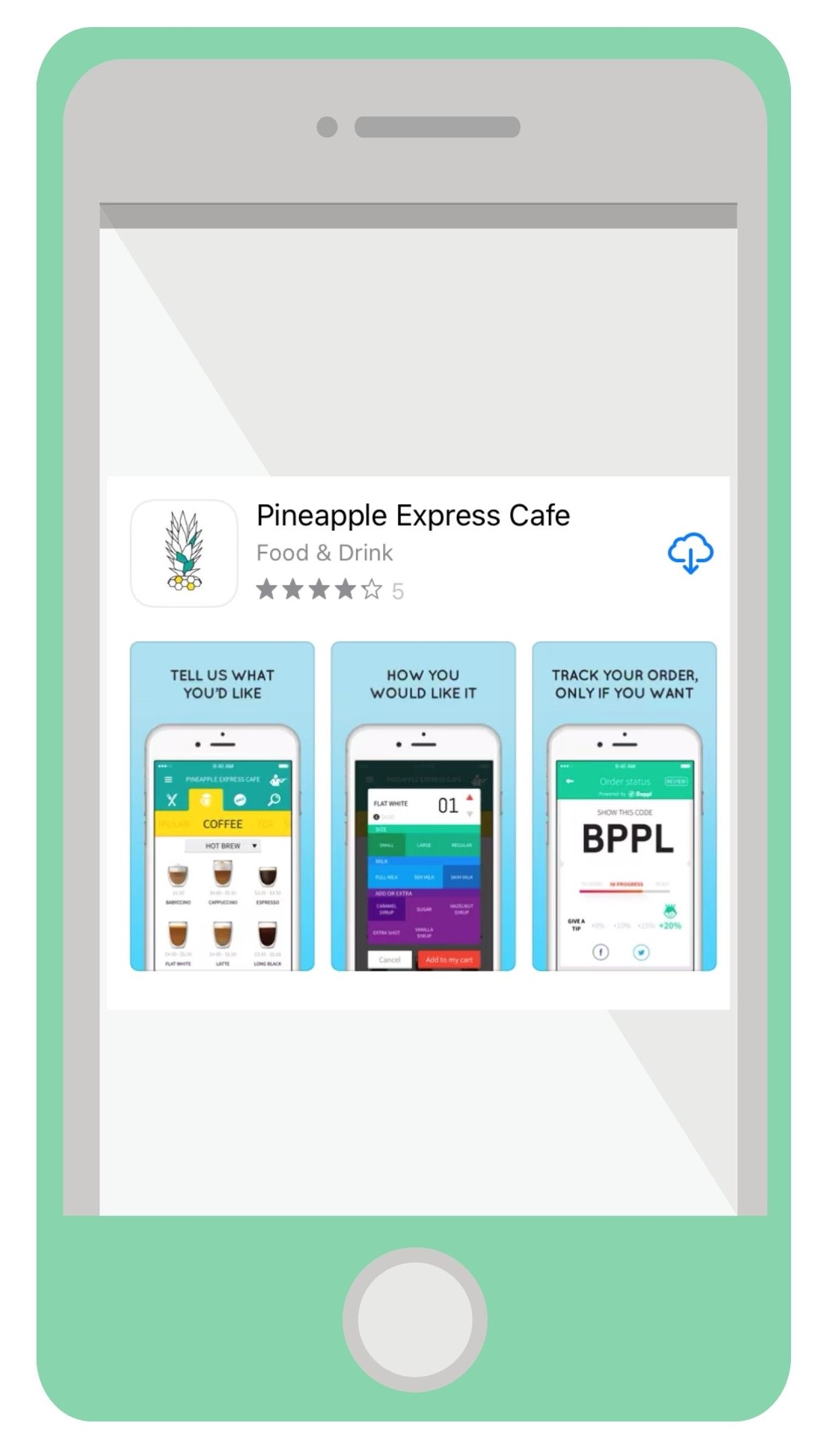 Pineapple Express App Download for Online food ordering