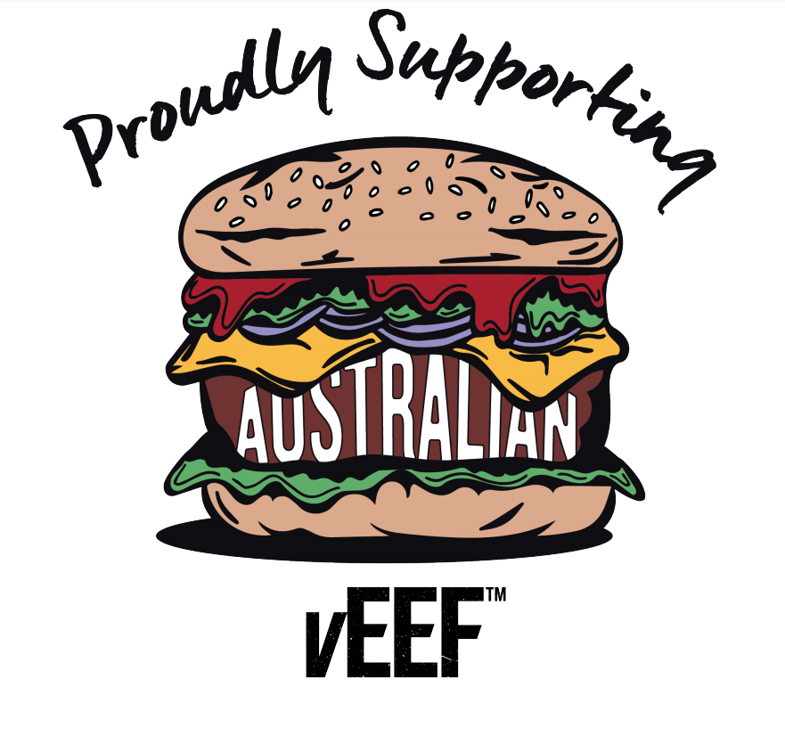 Veef Burger at Pineapple Express Superfood Cafe